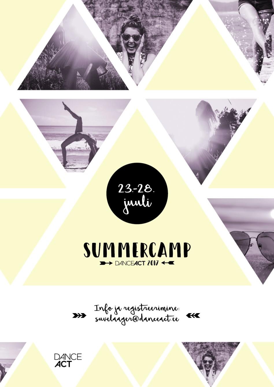DanceAct'i suvelaager 23.-28. juulil Häädemeeste Keskkoolis — DanceAct Summercamp 2017