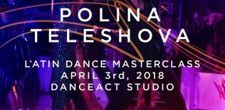 KIRILL BELORUKOV & POLINA TELESHOVA dance sport masterclass | April 3rd @ DanceAct Studio