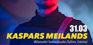 KASPARS MEILANDS URBAN CHOREGRAPHY & URBAN CONTEMPORARY | MARCH 31ST @ DANCEACT STUDIO