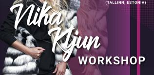 Nika Kljun workshop » 21 märts 2019 @ Salme Kultuurikeskus (Tallinn, Estonia)