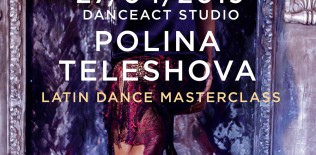 POLINA TELESHOVA latin dance masterclasses | April 27th @ DanceAct